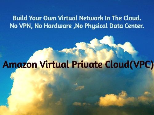 Set Up Your Very Own Virtual Private Network In The Cloud With AWS Virtual Private Cloud(VPC).