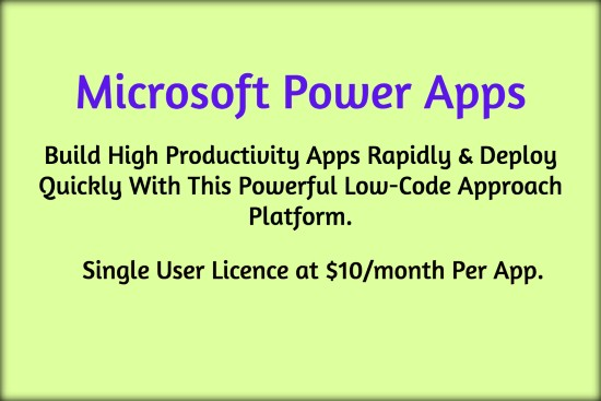 Build Professional-Grade Apps For Any Device Quickly Using Microsoft Power Apps With Azure.