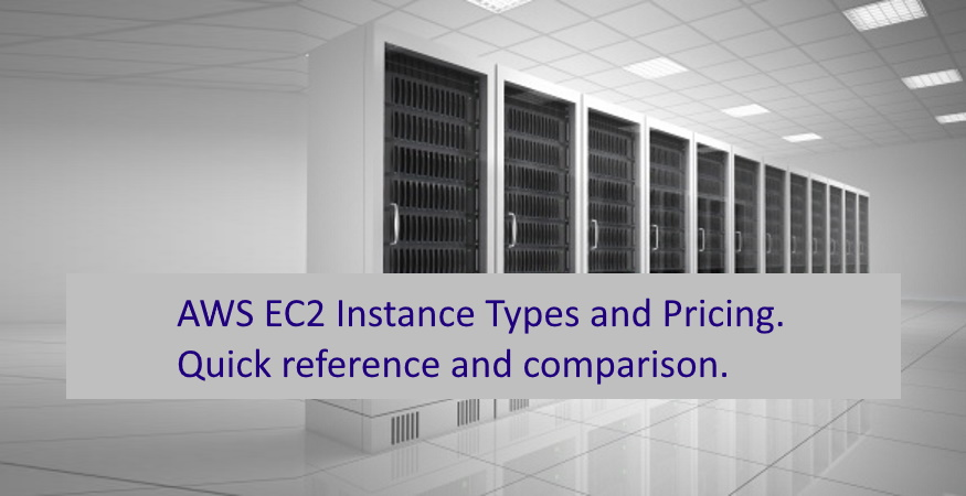 AWS EC2 Instance Types and Pricing Explained